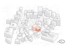 Image 54 of 69 from gallery of Ostasilor 8 / TAG Architecture. Site Axonometric