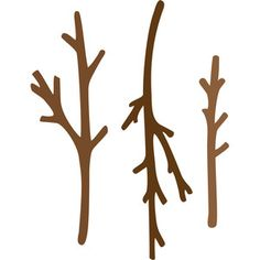 Silhouette Design Store: sticks and twigs