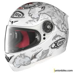 Casco X-Lite X-802R Replica Checa Flat White