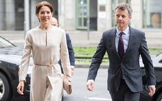 Prince Frederik and Princess Mary attends the opening ceremony of the business delegation's program with 450 Danish and German guests including company leaders and decision-makers at the Loewenbraukeller on May 21, 2015 in Munich, Germany.