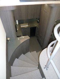Upstairs Of Double Decker Motorhome
