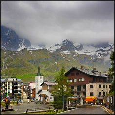 Walked these very streets in Breuil Cervinia (Aosta Valley, Italia)