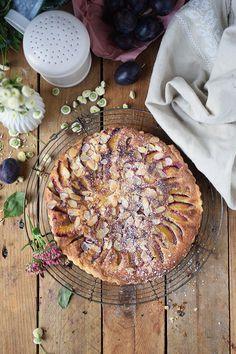 Pflaumen Mandelkuchen - Plum Almond Cake (6)