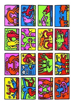 Andy Goldsworthy, Andy Warhol, Keith Allen, Keith Haring Art, James Rosenquist, Wessel, Claes Oldenburg, Art Folder, Principles Of Art