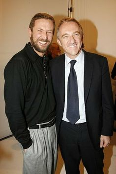 Francois-Henri Pinault & Stefano Pilati