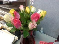 More birthday flowers!!!!!! Roses!!!!