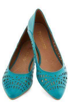 fancy flats. Zapatos planos de color.