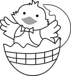 130 Best Easter Images Images Easter Chick Coloring Book
