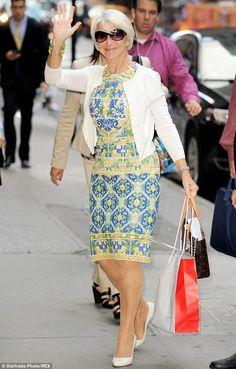 1000 Images About Fashion Icon Helen Mirren On Pinterest