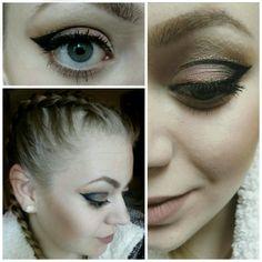 #makeup #eyeliner #lipstick #sleekmatteme