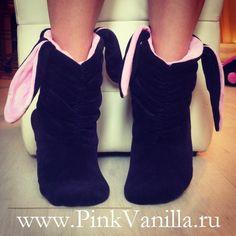 Como hacer unos botines para niñas
