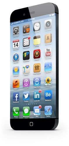 iPhone 6. You wont believe it. Even when you see it. by JohnnyPlaid , via Behance