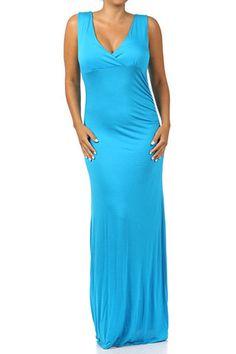b9914a3e6e6 Plus size maxi dress  teal  blue  spring  summer Blue Springs