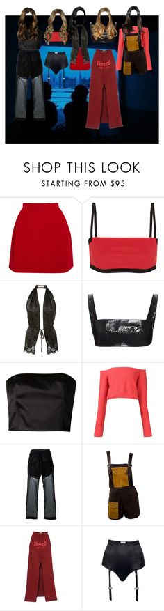 """""""Untitled #4350"""" by aurorazoejadefleurbiancasarah ❤ liked on Polyvore featuring Delpozo, T By Alexander Wang, Givenchy, Dion Lee, Creatures of the Wind, Baja East, Lost & Found, Janis, Vetements and I.D. SARRIERI"""