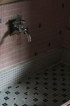 Japanese nostalgic bathroom