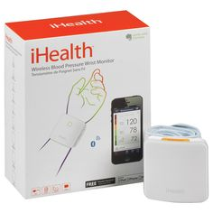This monitor includes an iHealth MyVitals App download, clinically accurate systolic, diastolic and pulse readings and stores data on your iPod, iPhone or iPad. The Motion Sensor Technology ensures accurate one-button blood pressure readings.