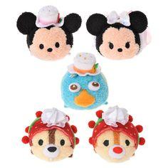Tsum Tsum 2nd Anniversary - Mickey, Minnie, Perry, Chip, Dale