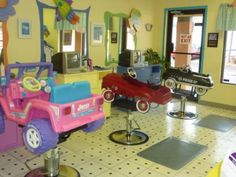 Hair Salon For Kids So Cute After Thought
