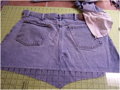 Art Threads: Wednesday Sewing - Sewing a Garden Apron from Jeans, Tutorial...