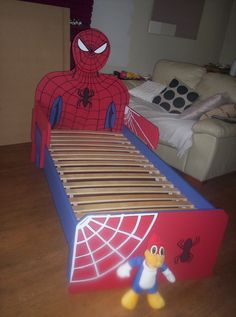 Elegant Toddler Spiderman Bed