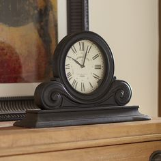 Birch Lane Boulevard Table Clock | Birch Lane