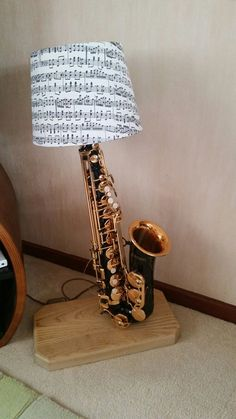 Lovely email from a Lamps and Lights' customer who turned a saxophone into a lamp for his wife for Christmas. Great Xmas present Matthew