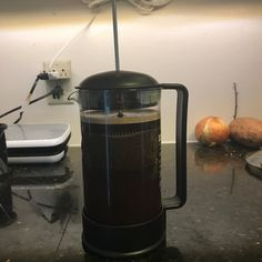 I wait all week to sit and enjoy a full pot of French press on the weekend.