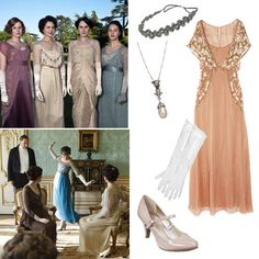 Upstairs, Downstairs: 2 Ways to Channel Downton Abbey For Halloween