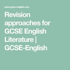 Revision approaches for GCSE English Literature Aqa English Gcse, Gcse English Literature, Revision Tips, Study Notes, Study Tips, Teaching English, Homeschool, Student, This Or That Questions