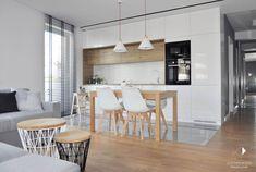 Modern living room by architekt wnętrz klaudia pniak modern   homify Krakow, Home Projects, Modern, House Design, Living Room, Interior Design, Kitchen, Table, Furniture