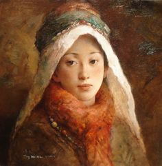 Tang Wei Min (Chinese:1971) -  Title: The Gentle Look - click to close window