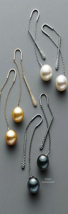 awesome Yoko London Fine Jewelry Pendulum Earrings | Purely Inspiration...