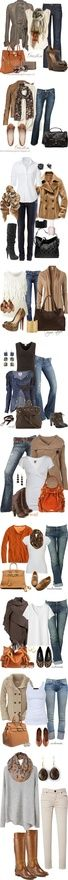 fall casual #fashion love all of them!!! my-style