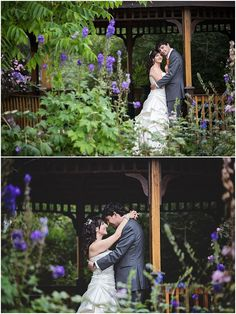 Wedding Gazebo | Portraits in the outdoor gazebo | Gardens | Matte Color Edit | Soft Lighting | Calgary Zoo Wedding {R+M} | Jalisse Photography
