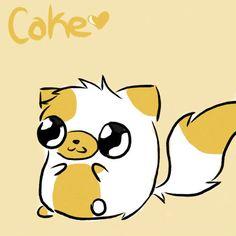 Cute Anime Cake The Cat   Cake The Cat, Cute - cake-the-cat Fan Art
