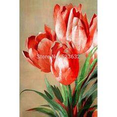 pintura de tulipas - Pesquisa Google