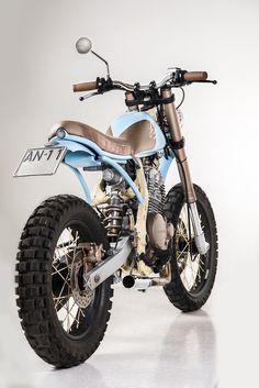 Matteucci Garage NX650 'Strato' - The Bike Shed