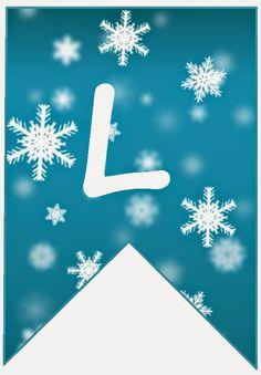 BulutsMom: Disney Frozen Themed Birthday Banner Letters 2 - BulutsMom: Disney Frozen Themed Birthday Banner Letters 2 Informations About BulutsMom: Disney Froze - Frozen Birthday Party, 4th Birthday Parties, Frozen Party, Winter Party Themes, Winter Parties, Frozen Disney, Frozen Frozen, Frozen Banner, Banner Letters