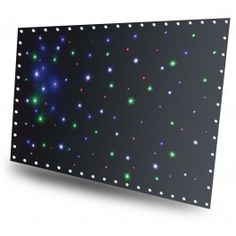 SparkleWall LED96 RGBW 3x 2m with controller