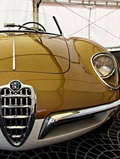Classic Alfa Romeo – Cars is Art Retro Cars, Vintage Cars, Vintage Metal, Top Vintage, Vintage Italian, Alfa Romeo Cars, Alfa Cars, Citroen Ds, Amazing Cars