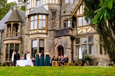 Lets get married outside... wedding photography at Knockderry House by Ian Arthur