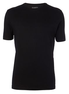 Black Basic Crew Neck T-Shirt - activewear - Men - BHS