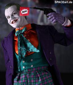 Batman 1: Joker (Jack Nicholson), Voll bewegliche Deluxe-Figur ... http://spaceart.de/produkte/bm005.php