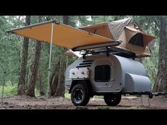 TerraDrop the multi purposes off-grid Trailer by Oregon Trail'R