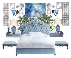 """A Blue Nights Sleep"" by bcurryrice on Polyvore featuring Haute House, Pacific Coast, simplehuman, Alpine, Motorola and blomus"