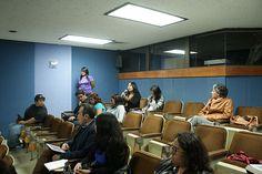 Sesión de preguntas, alumna Mónica, Auditorio de la DGTIC, Seminario: Visiones sobre la Mediación Tecnológica en Educación, 23 de septiembre de 2013.