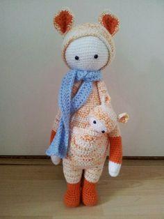 KIRA the kangaroo made by Marianne L.
