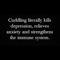 Let's cuddle! <3 BRING IT ON! <3 haha