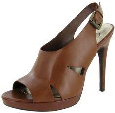 JESSICA SIMPSON cedro Bomba para mujer del tacón peep toe de plataforma de cuero Sandalia Zapato de equipaje   Calzado para chicas