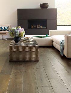 Brushed & Aged French Oak Hardwood Flooring - Mediterranean Valldemossa French Oak